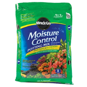 Scotts Miracle Grow 1 Cu.ft. Moisture Control Potting Mix