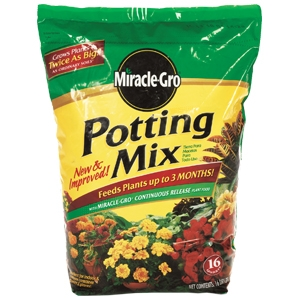 Scotts Miracle Grow 16 quart Potting Mix