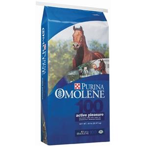 Purina® Omolene #100® Active Pleasure Horse Feed