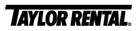 Taylor Rental BX3 Logo