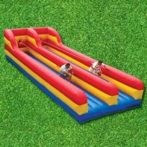 Bungee Run Side By Side Inflatable