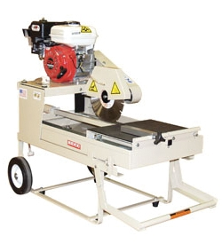 Edco Gas Brick Saw