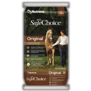 Nutrena SafeChoice® Original Horse Feed