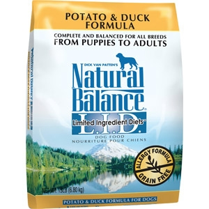 Natural Balance® Limited Ingredient Diets® Potato & Duck Dry Formula
