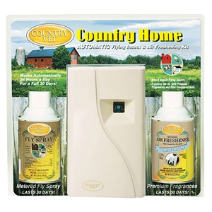 Country Vet Home Flying Insect & Odor Control Kit