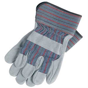 Wells Lamont Suede Cowhide Leather Palm Gloves