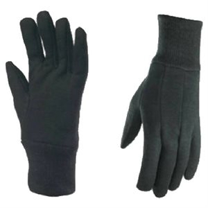 Wells Lamont Brown Poly/Cotton Blend Jersey Gloves