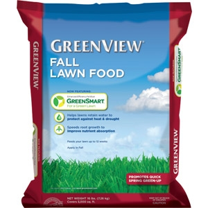 GreenView with GreenSmart Fall Lawn Food