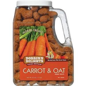Purina® Dobbin's Delights Carrot & Oat Flavored Horse Treats
