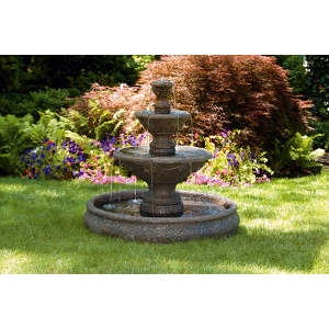 3-Tier Harvest Pool Fountain
