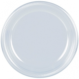 Clear Plastic Plates - Disposable