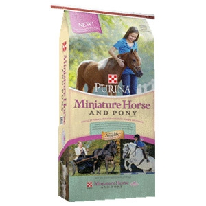 Purina® Miniature Horse and Pony Feed