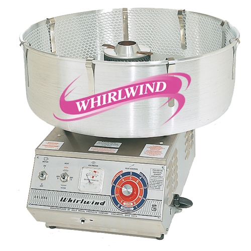 Stainless Steel Deluxe Whirlwind Cotton Candy Machine