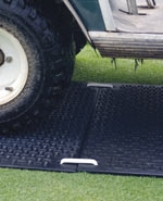 Alturnamat 3' x 8' Black Ground Protection Mat