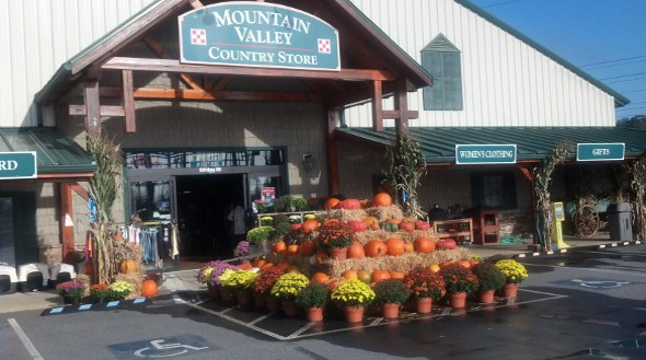 Mountain Valley Store Front