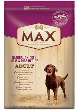 MAX® Chicken Meal And Rice Adult Dog