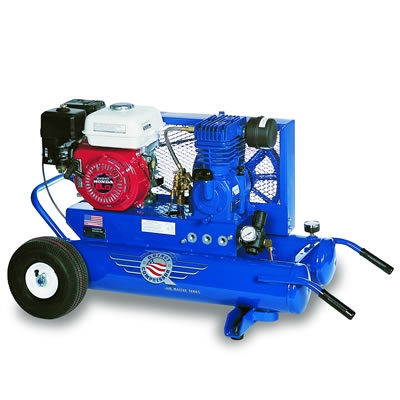 Wheelbarrow Air Compressor