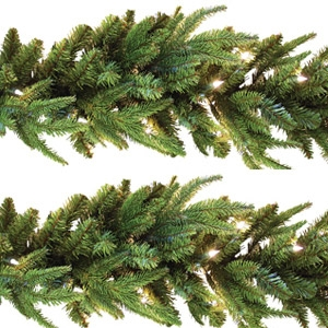 Holiday Concepts  Ashville Frasier Fir Garland 9'x10""