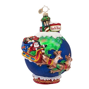 Christopher Radko 'Midnight Trip' Ornament