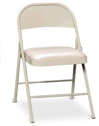 Padded Folding Chair