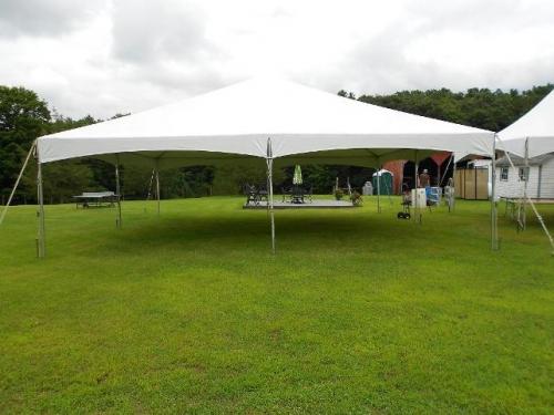30' x 30' Frame Tent
