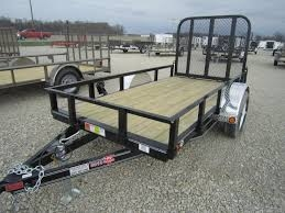 PJ 6' x 12' Trailer with Ramps