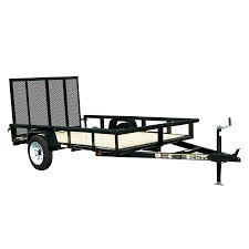 G & L 6' x 8' Trailer with Ramps