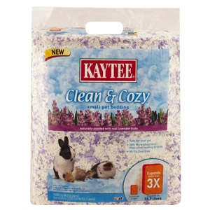 Clean & Cozy Lavender Scented Small Animal Bedding