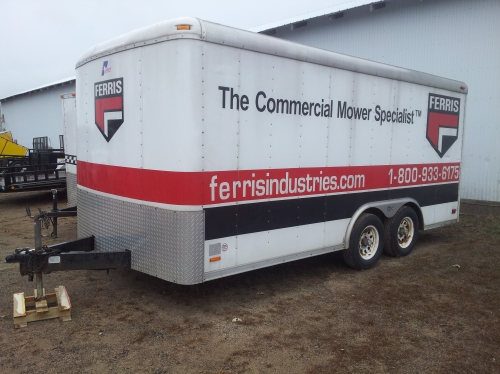 Pace 8' x 16' Enclosed Trailer