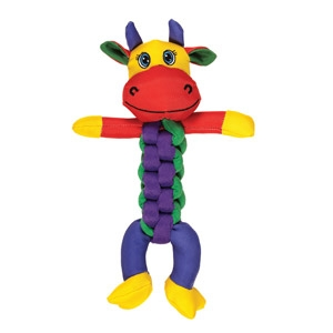 Chomper Brand Braided Animal Toy