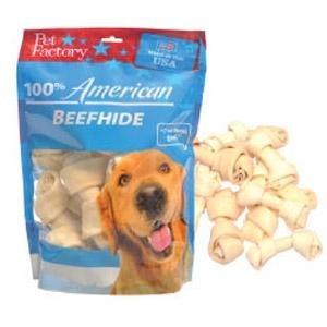 Pet Factory American Beefhide Small Bones