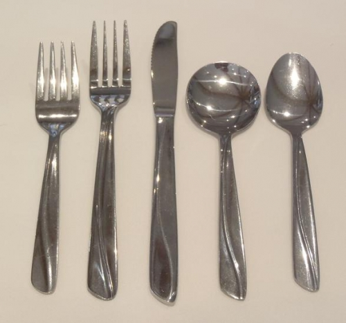 Stainless Steel Flatware, Fork, Knife, Spoon