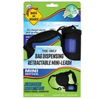 Bramton Company Mini Retractable Leash - Black (45 bags)