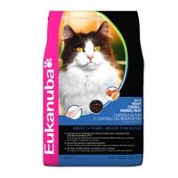 Eukanuba Cat Indoor Weight Control Hairball, 16 Lb