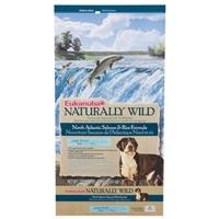 Eukanuba Large Breed Dog Naturally Wild Salmon and Rice, 30 Lb