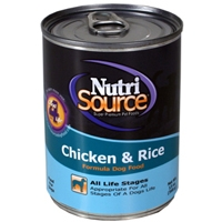 TUFFY'S NutriSource Dog Chicken/Rice Can