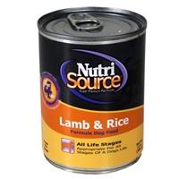 TUFFY'S NutriSource Lamb/Rice Dog