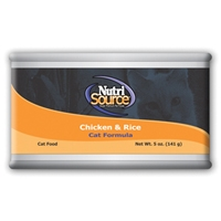 TUFFY'S NutriSource Chicken/Rice Can 12/5OZ