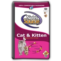 TUFFY'S NutriSource Cat/Kitten Chicken/Rice 6.6#