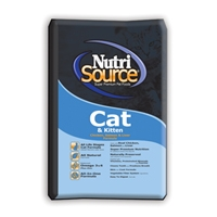 Tuffy's Nutrisource Cat/Kitten Chicken, Salmon and Liver - 6.6#