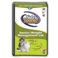 TUFFY'S NutriSource Senior Weight Management Cat 16#