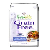 Pure Vita Turkey, Sweet Potato, & Peas Grain Free 5#