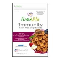 Tuffy's Pet Food  Pure Vita Grain Free Immunity Biscuit, 6/12oz.