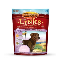 Zuke's Lil' Links Rabbit & Apple Recipe 6 oz.