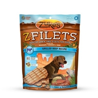 Zuke's Performance Z-Filets Basted Beef 3.25 oz.