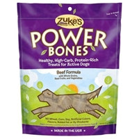 Zuke's Performance Power Bones Beef & Wheat Flavor 6 oz. Pouch