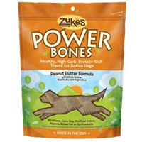 Zuke's Performance Power Bones Peanut Butter Flavor 6 oz. Pouch