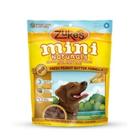 Zuke's Performance Mini Naturals Peanut Butter 6 oz. Pouch