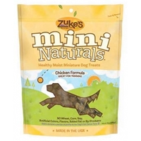 Zuke's Performance Mini Naturals Chicken Flavor 1 lb. Pouch
