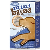 Zuke's Performance Mini Bakes Peanut Butter 'N Blueberryz 16 oz.